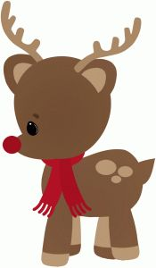 Rudolph clipart adorable. Best images on