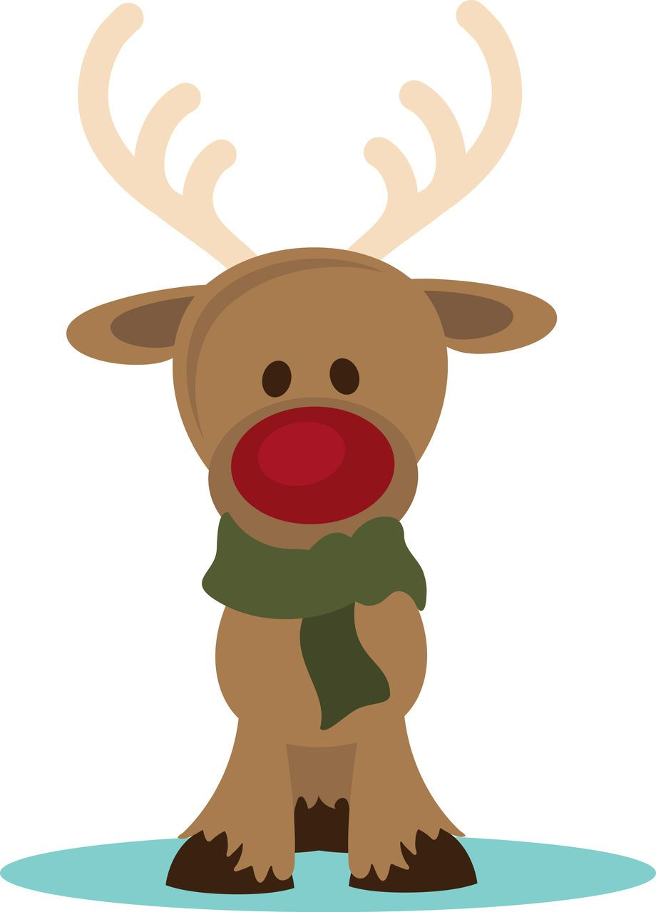 Rudolph clipart baby. Ppbn designs with a