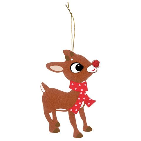Rudolph clipart holiday. The red nosed reindeer