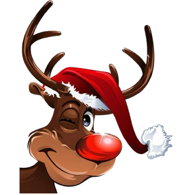Rudolph the red nosed reindeer png. Transparent image arts