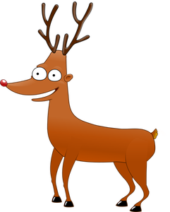 Rudolph vector antlers. Reindeer clipart at getdrawings