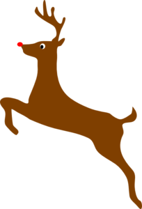 Rudolph vector rudolf. The red nosed reindeer