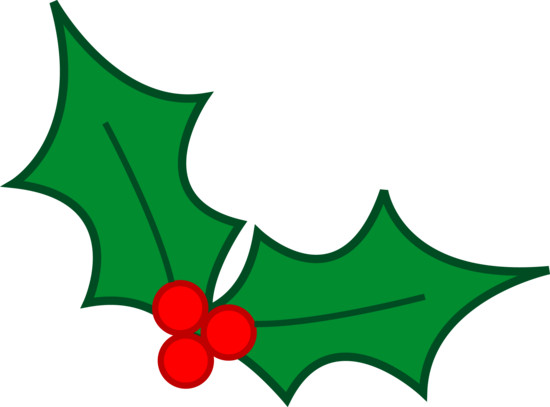Rudolph vector holly. Christmas leaves design tattoo