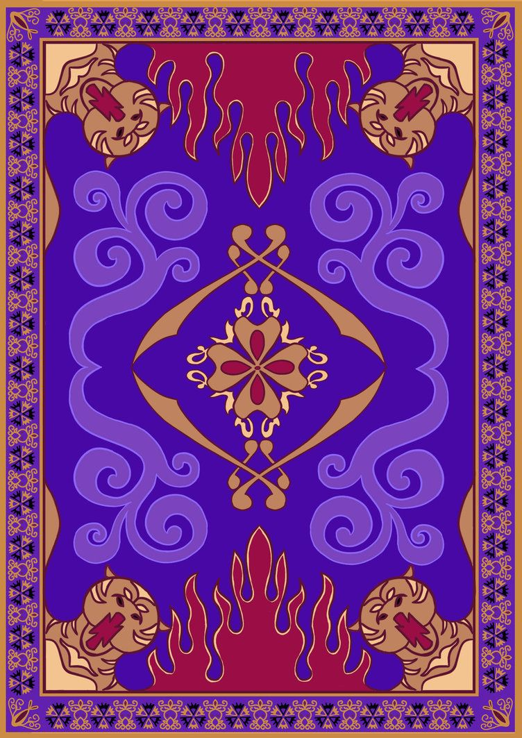 Rug clipart aladdin carpet. So basically i was