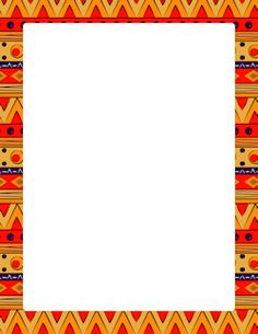 Page featuring colorful tribal. Rug clipart border african clipart library