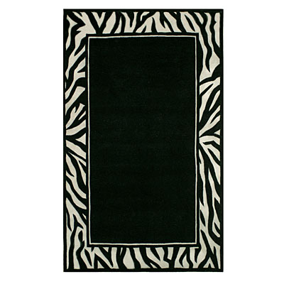 Via antiquez south safari. Rug clipart border african image black and white library