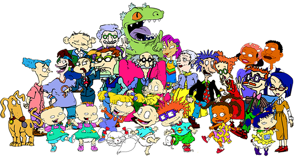 Rugrats transparent taffy. The gang of parody