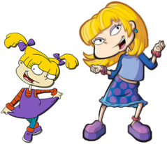 Rugrats transparent pickles family. Angelica wikipedia