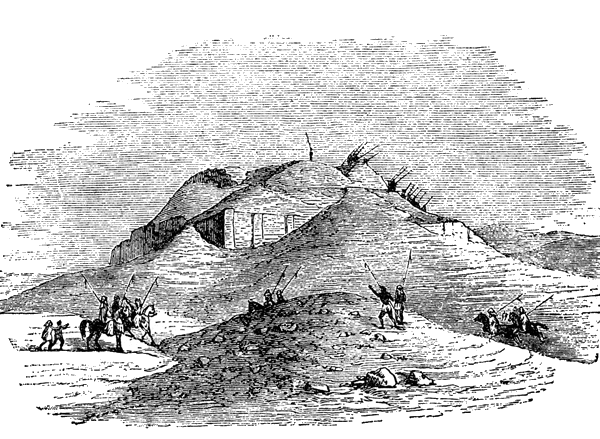 Ruins drawing. Http www ancientmesopotamia org