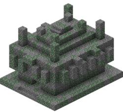 Ruins drawing jungle temple. Official minecraft wiki