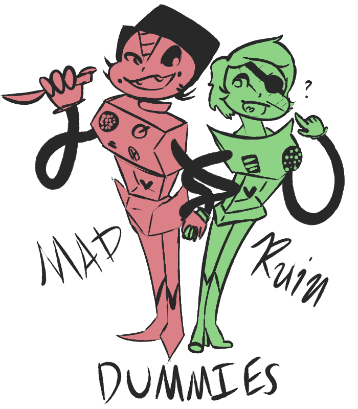 Ruins drawing undertale. Dummy duo by m