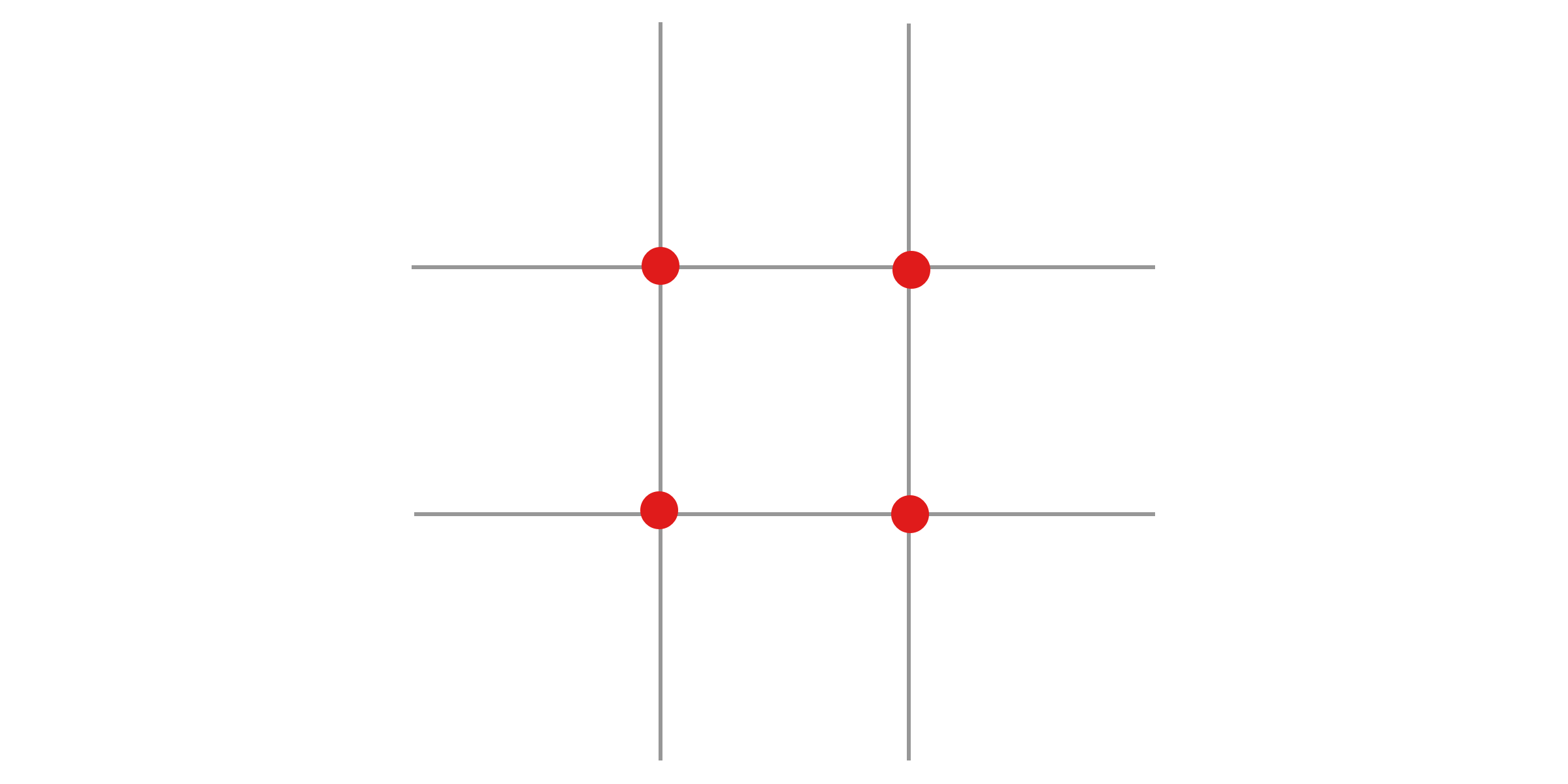 Rule of thirds grid png. Graphic design terms