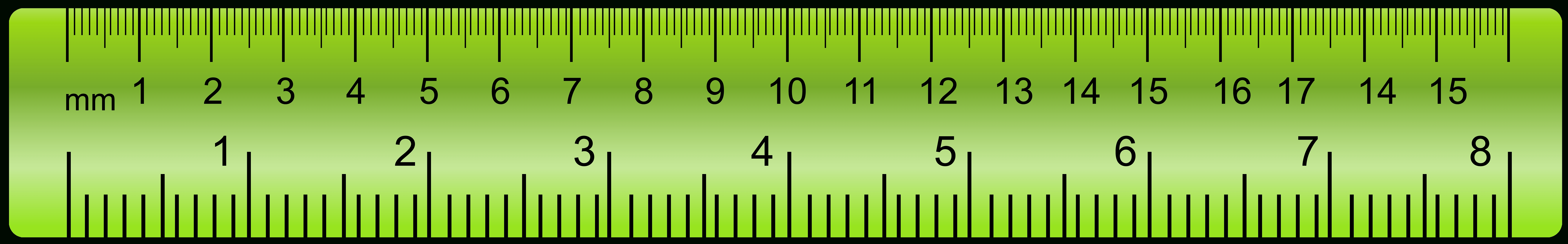 Ruler clipart. Png letters green ampamp