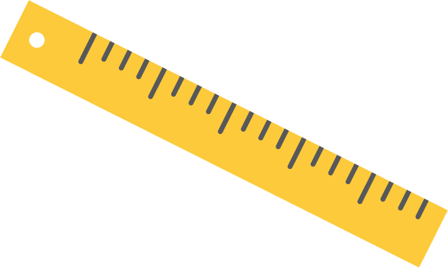 Ruler clipart. Transparent background free on