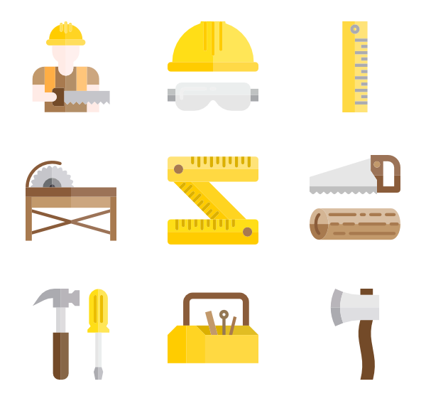 Ruler clipart carpenter. Rulers icons free vector