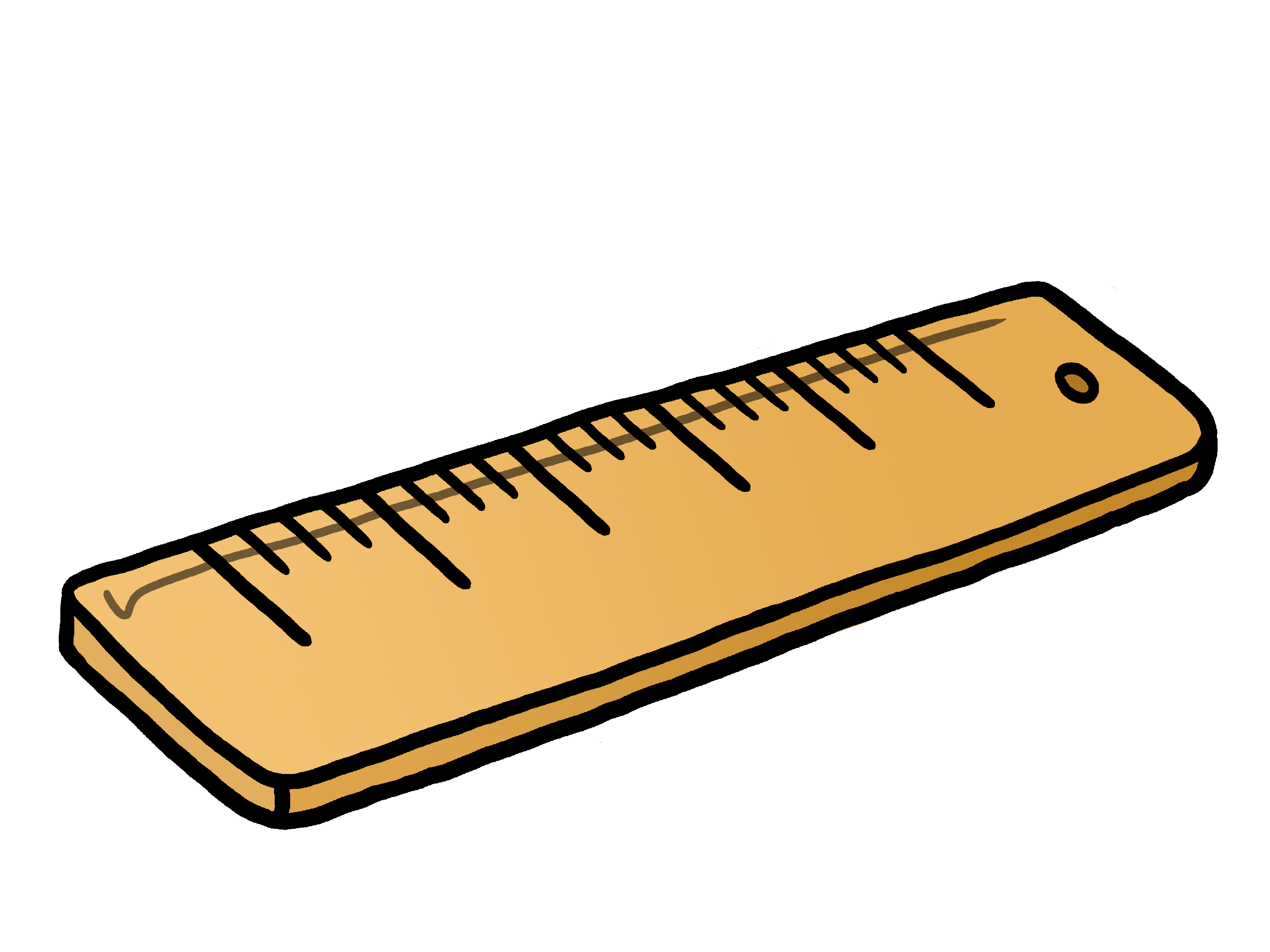 Ruler clipart long ruler.