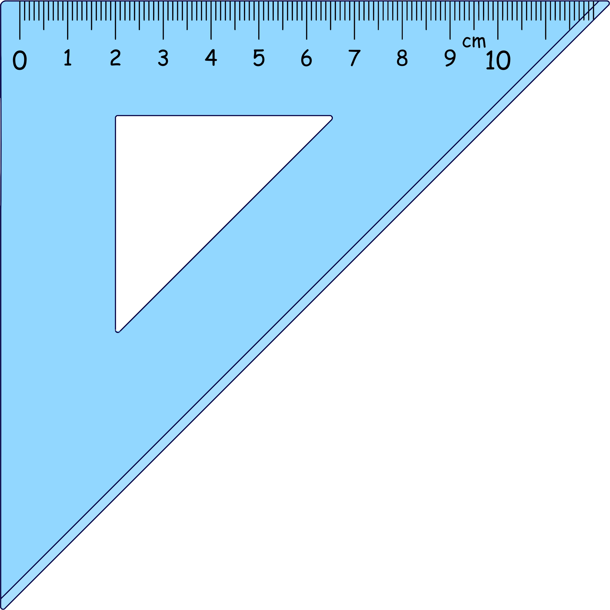 triangle ruler png