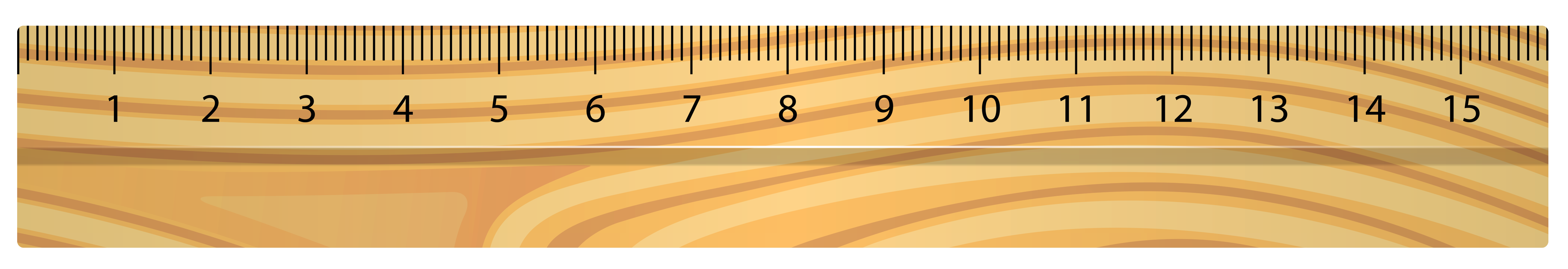 Ruler transparent png. Wooden vector clipart gallery