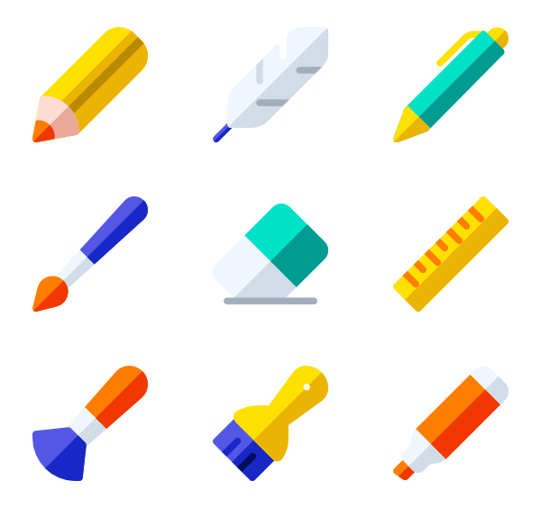 Package vector creative. Ruler icons free