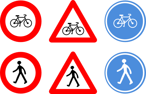 Rules clipart signage. Free images of road
