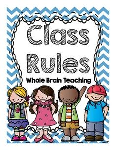 Rules clipart taught. Classroom freebie minute friday