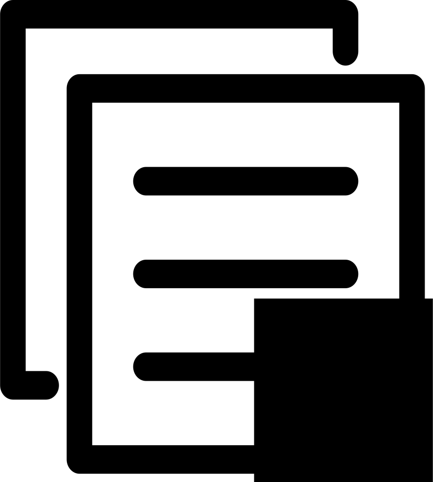 Rules icon png. Font test paper svg