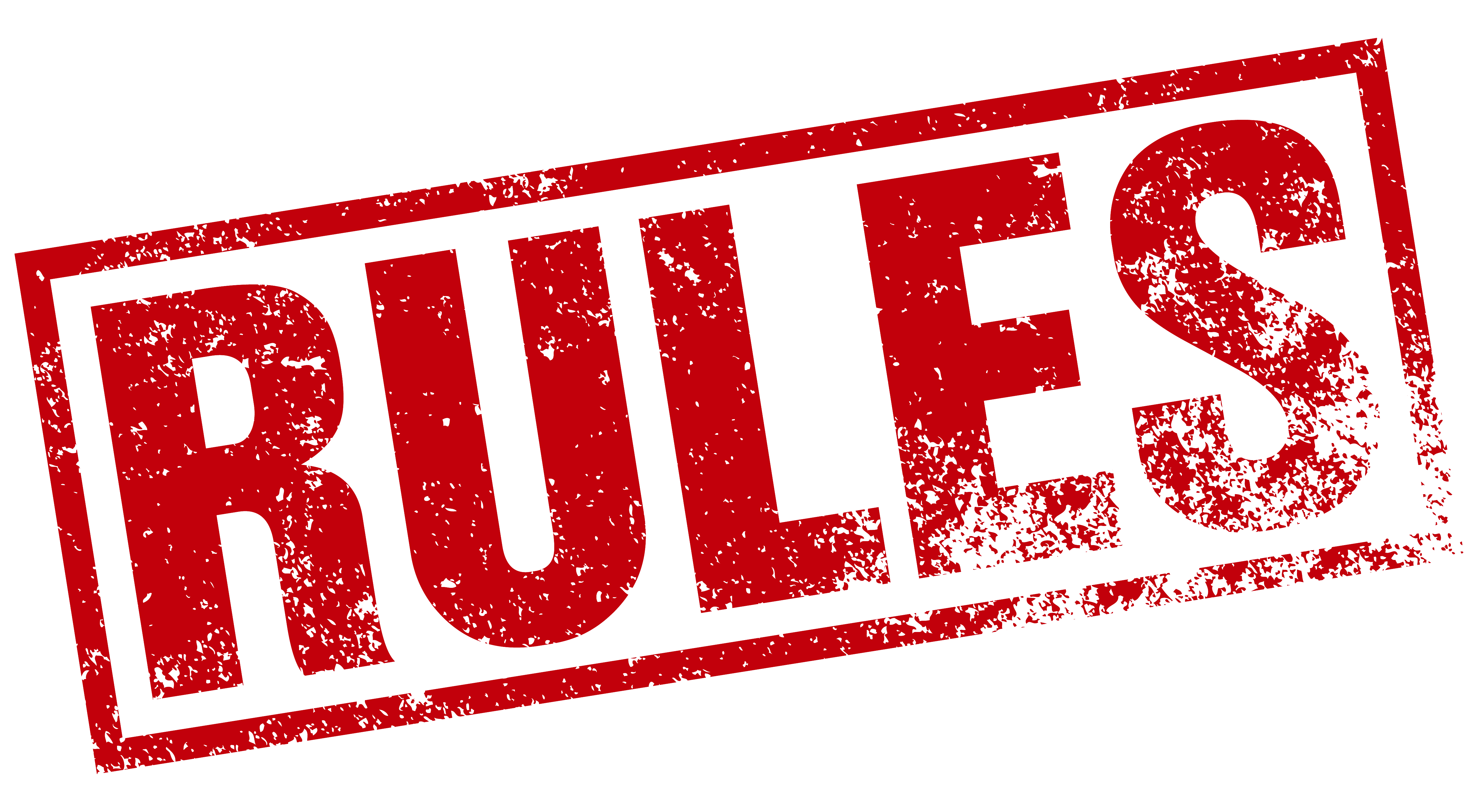 Rules transparent. Flagswipe