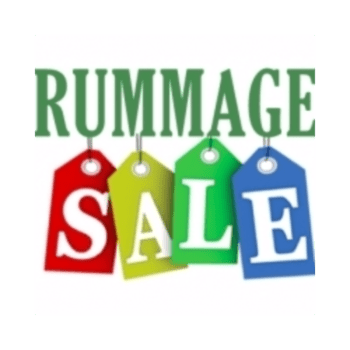 Rummage sale png. On saturday april from