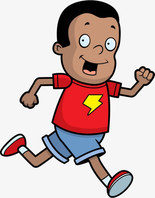 Runner clipart boy runner. Cartoon runners running man