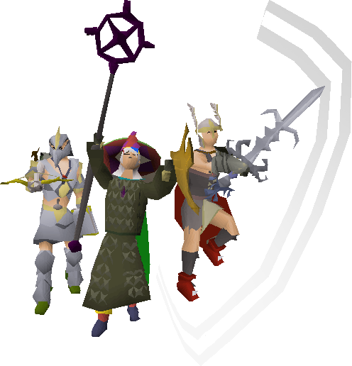 Old school png image. Runescape transparent image black and white library
