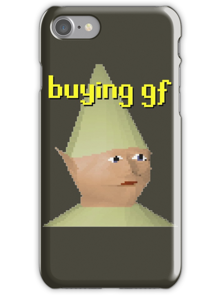 Runescape gnome child png. Iphone case by cthulhuism