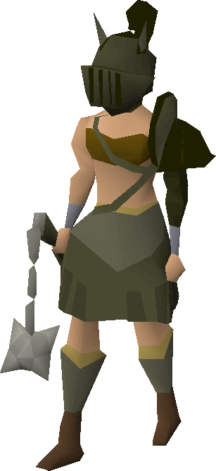Image result for female. Runescape transparent clip library download