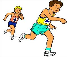 Runner clipart. Free track runners tags