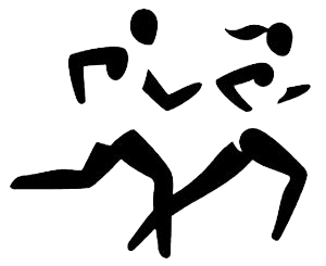 Runner clipart. Track string art pinterest