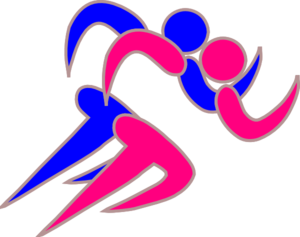 Runner clipart boy runner. Girl and runners clip