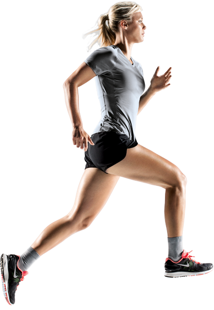 Female runner png. Athlete images free