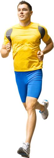 Runner png. Running man image woman