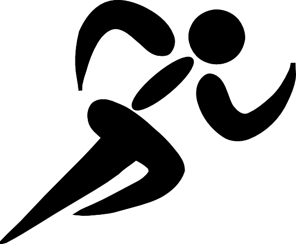 Runner silhouette clip art png. At getdrawings com free