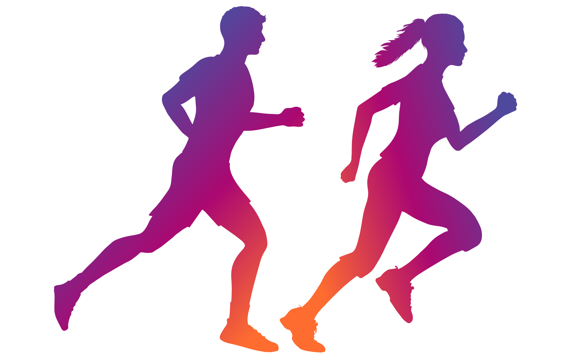 Runner silhouette png. About bounding plains to
