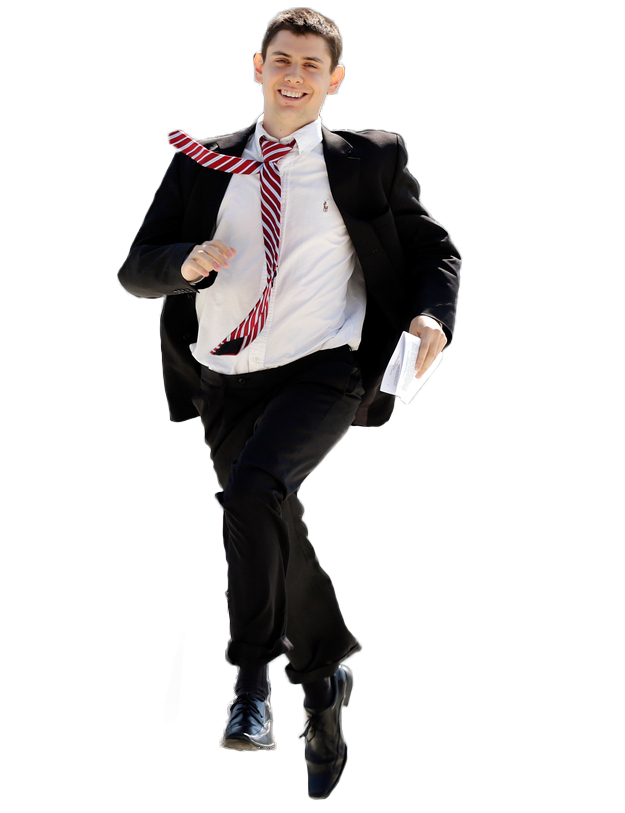 Running businessman png. Men suit transparent pictures clip royalty free stock