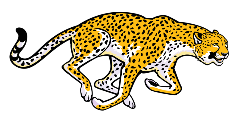 Running cheetah png. Black and white clip