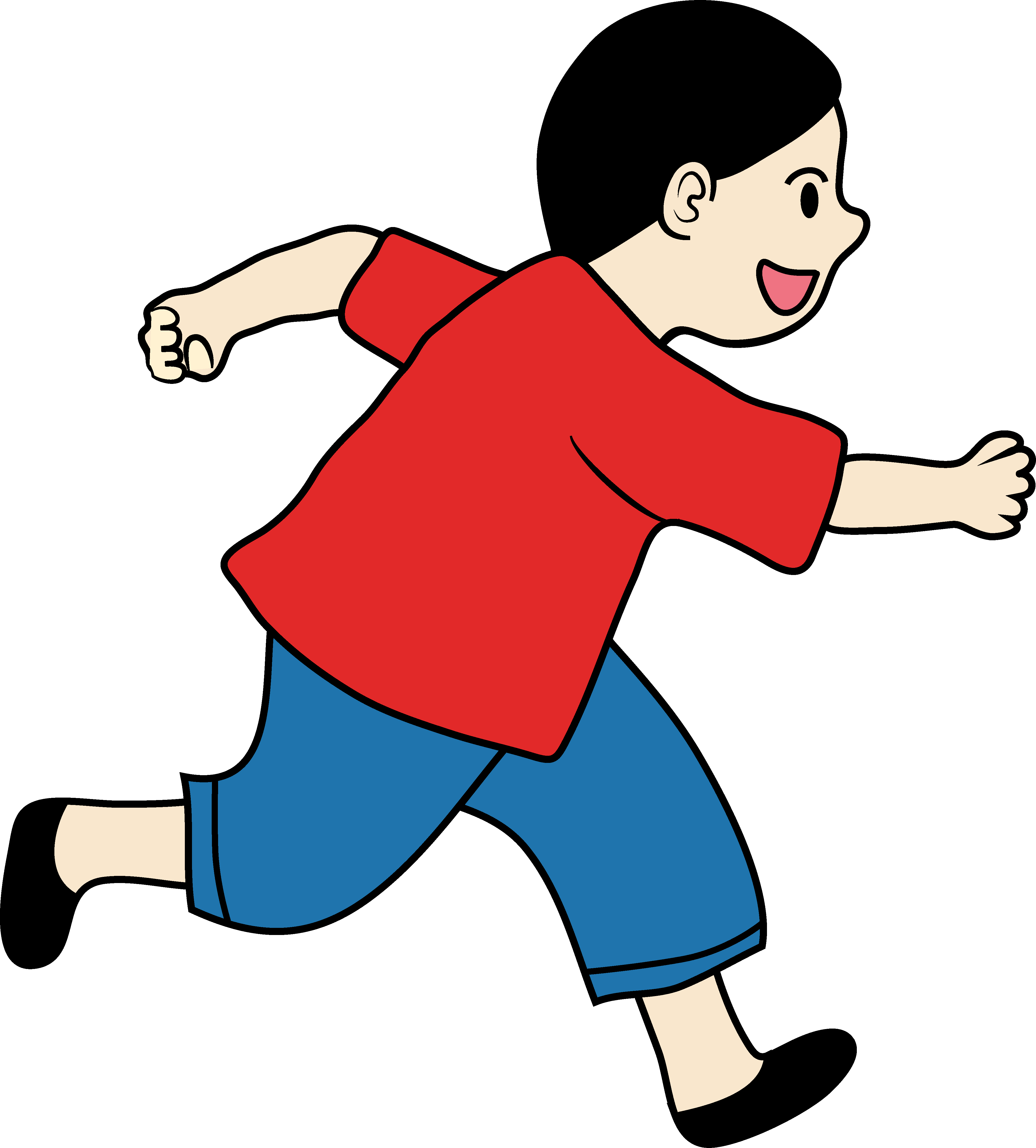 Running clipart boy. Png images gallery for