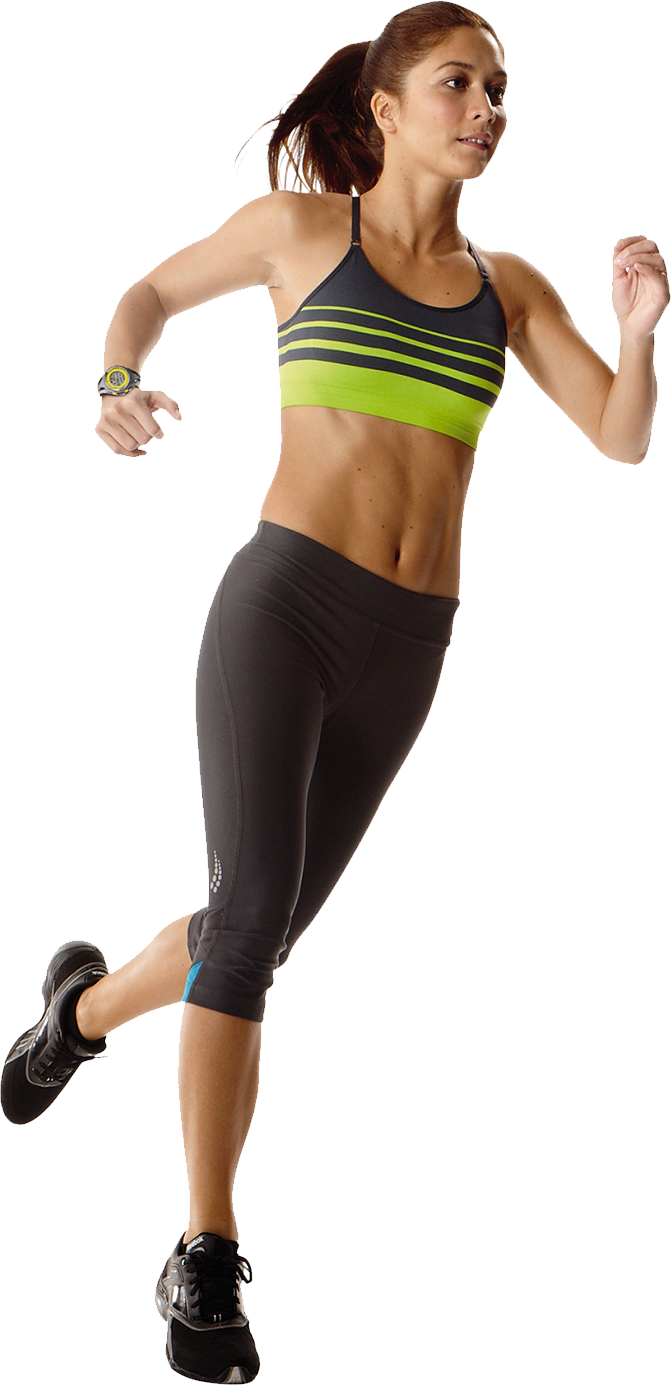 Running girl png. Download free image with
