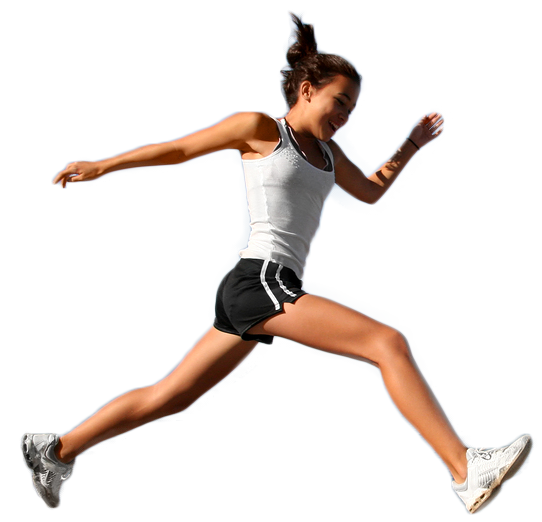 Running girl png. Epping physio physiotherapy