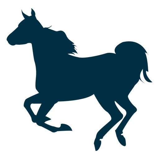 Running horse silhouette png. Transparent svg vector