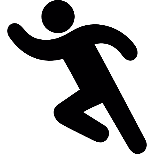 People running away png. Icons vector free and