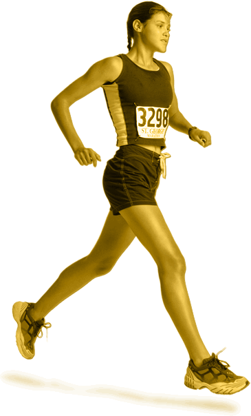 Running png. Common injuries and prevention
