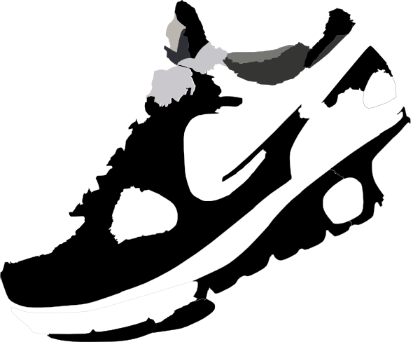 Running shoe clipart png. Collection of shoes