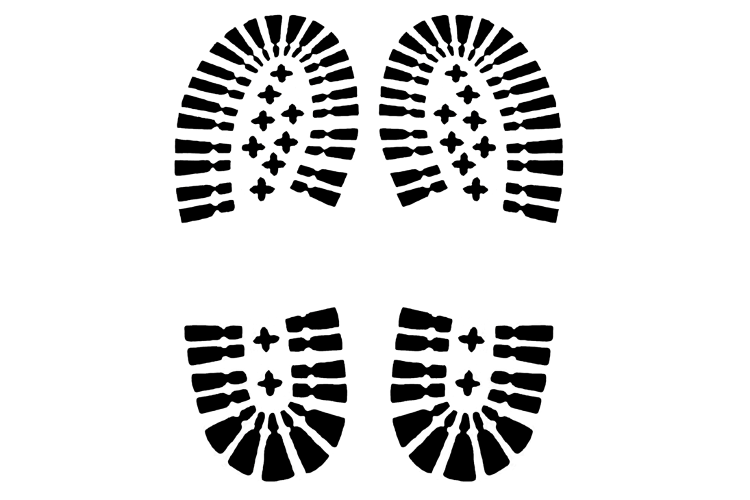 Shoe print png. Shoeprint stock by fieandt