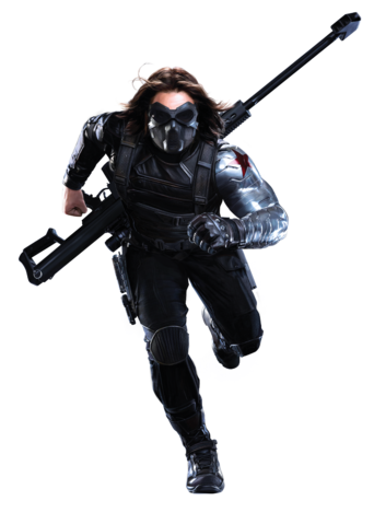 Running soldier png. Image bucky masked tws
